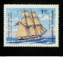 424102339 ARGENTINIE DB 1974 POSTFRIS MINTNEVER HINGED POSTFRIS NEUF YVERT 986 - Argentina