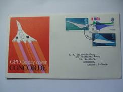 GB FDC -1969 Concorde - FDC