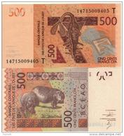 New  TOGO  500 Francs CFA    P819Tc   Dated 2014   UNC - Togo