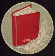 500th Anniv Of BOOK PRINT - POSTER Size -  LABEL CINDERELLA VIGNETTE - 1936 Hungary / MH - Cinderellas