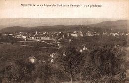 06 VENCE LA LIGNE DU SUD DE LA FRANCE VUE GENERALE - Vence