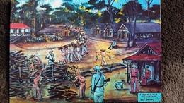 CPSM GUYANE ? BAGNE LE CAMP DE LA MORT CONVICT PRISON  ED DELABERGERIE DELROISSE 184  DETACHEE ALBUM 2 EME CHOIX - Guyane