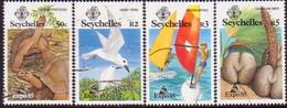 SEYCHELLES 1985 SG #609-12 Compl.set Used Expo '85 - Seychelles (1976-...)
