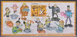Kinder Istruzioni - Despicable ME3 - Istruzioni