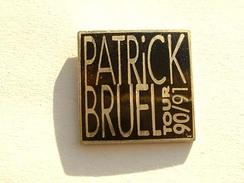 PIN'S PATRICK BRUEL  - TOUR 90/91 - Music