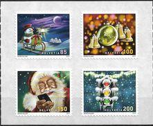 2017 Schweiz   Mi. 2520-3**MNH  Weihnachten: Weihnachtslieder. - Unused Stamps