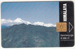 CZECH REPUBLIC - Himalaya/Kanchenjunga - 8586 M, Tirage 90000, 09/94, Used - Mountains