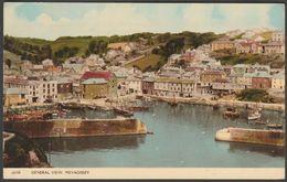 General View, Mevagissey, Cornwall, C.1960s - Harvey Barton Postcard - England
