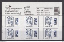 Rare N°sur Carnet Marianne De Ciappa  Bleu Europe - Carnets