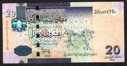 LIBIA (LIBYA) :  20 Dinar – 2009 - UNC - Libia