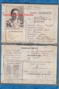 Carte D'identité Ancienne Vers 1940 - Jeanne Marcelle LANDRY épouse MAURICE - 26 Boulevard Pichot Neuilly Plaisance - Non Classés