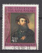 Autriche 1990  Mi.Nr: 1991 Geburtstag Von Hans Makart  Oblitèré / Used / Gebruikt - 1945-.... 2ème République