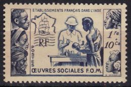 Inde N° 254 * - India (1892-1954)