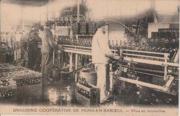 59 - MONS EN BAROEUL - BRASSERIE COOPERATIVE - MISE EN BOUTEILLES - Altri Comuni