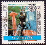 SEYCHELLES 1986 SG #652 10r Used Royal Wedding - Seychelles (1976-...)