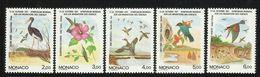 MONACO  1991  BIRDS   SET  MNH - Non Classés