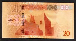 LIBIA (LIBYA) :  20 Dinars, ND (2016) Pnew - Libia
