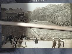 26 PIERRELATTE CARTE PHOTO LE ROCHER SCENE DE SPECTACLE EN PLEIN AIR - France
