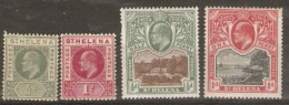 Saint Helena  1903  SG 53-6 Mounted Mint - St. Helena