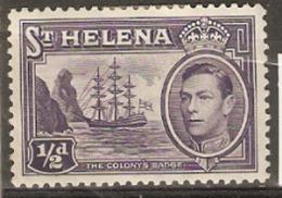 Saint Helena  1938  SG 131  1/2d Mounted Mint - St. Helena