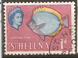 Saint Helena  1961  SG 176  1d Fine Used - St. Helena