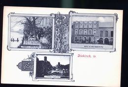 DIEKIRCH   HOTEL DU MIDI 1899 - Belgique