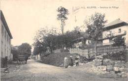 74 - HAUTE SAVOIE / 74574 - Allèves - Intérieur Du Village - Autres Communes