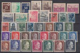 Dt. Besetzung 2.Wk. 37 Marken Postfrisch, Falz Ansehen !!!!!!!!!!! - Briefmarken