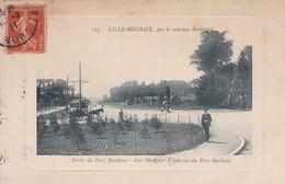 LILLE-ROUBAIX, PAR LE NOUVEAU BOULEVARD. SORTIE DU PARC BARBIEX. CAR MONGRY. VELODROME. ELD CIRCA 1910s. TBE -BLEUP - Lille