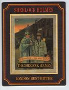 UNUSED BEERMAT - PUB WORLD COLLECTABLES - THE SHERLOCK HOLMES LONDON BEST BITTER (ENGLAND) - Sous-bocks
