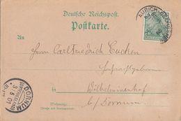 DR Karte EF Minr.55 Bpst. Ankunftsst. KOS Dornum (Ostfriesland) 3.5.01 - Briefe U. Dokumente