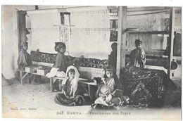 BISKRA (Algérie) Fabrication Des Tapis Gros Plan - Biskra
