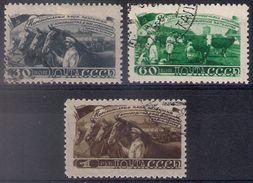 Russia 1948, Michel Nr 1256-58, Used - Gebruikt