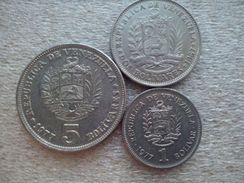 Venezuela   1 - 5  Bolivares   1967-77 - Venezuela