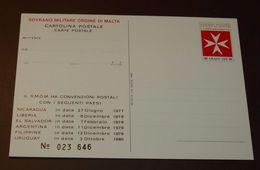 Ganzsache 125 Grani  #cover3924 - Malta (Orden Von)