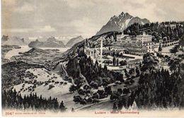 LUCERNE - LUZERN - HOTEL SONNENBERG - LU Lucerne
