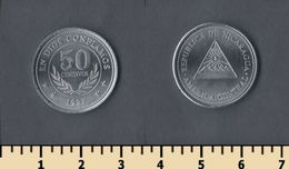 Nicaragua 50 Centavos 1997 - Nicaragua