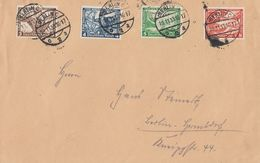 DR Brief Mif Minr.499,500,501,503 Berlin 10.11.33 - Briefe U. Dokumente