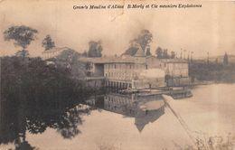 ALBIAS  -  Grands Moulins  -B.Merly Et Cie Meuniers Exploitants ( Voir Descriptif ) - Albias