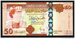 LIBIA (LIBYA) : 50 DINARS - 2009 - P75 - UNC - Libia