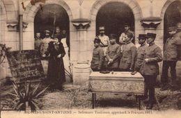 Charente, Cognac, Hopital Saint Antoine, Infirmiers Tonkinois Apprenant Le Francais, 1917  (bon Etat) - Cognac