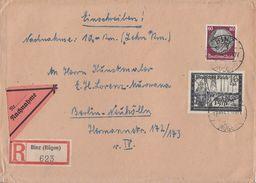 DR R-NN-Brief Mif Minr.526,776 Binz 17.10.41 - Briefe U. Dokumente
