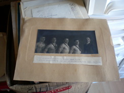 Wrestling Photo Sombor Zombor  Sportski Klub Amater 1923  Nadj Balint, Nadj Stevan, Has Adam, Ronai Laszlo, Hen Janos - Lucha