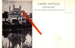 "Carte Publicitaire - A. Collumbien-Paynjon - Architecte De Jardins - GAND - ""Thuis Aan De Leie, 60,rue Du Patijntje - Haaltert"