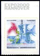 "Allemagne 2000 ""Expo 2000 Hannover"" ** Autoadhésif De Carnet, Selbstklebend Aus Heftchen, From Booklet - 2000 – Hanover (Germany)"