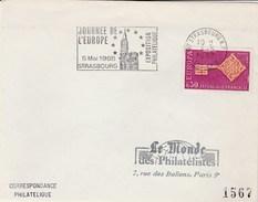 EUROPA FRANCE N° 1556  ANNEE 1968 JOURNEE DE L'EUROPE - Europa-CEPT