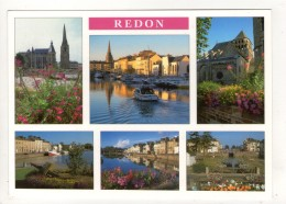 CP 10*15-TAC648-REDON MULTIVUES - Redon