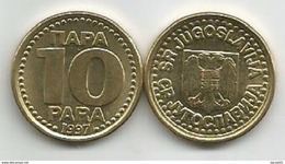 Yugoslavia 10 Para 1997. XF++ KM#173 - Joegoslavië