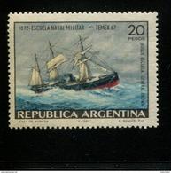 423674014 ARGENTINIE DB 1967 POSTFRIS MINTNEVER HINGED POSTFRIS NEUF YVERT 801 - Unused Stamps