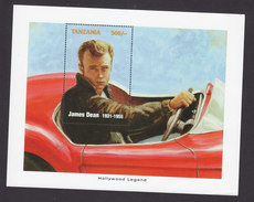 Tanzania, Scott #Unlisted, Mint Hinged, James Dean, Issued 1996 - Tanzanie (1964-...)